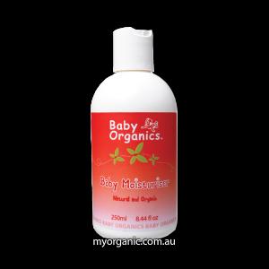 B01 - Baby Organics - Organic Baby Moisturiser (250ml)