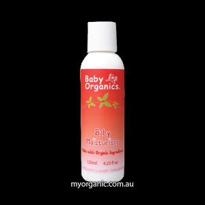 Certified Organic Baby Moisturiser