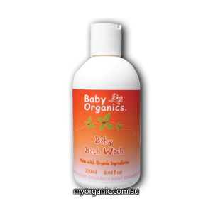 B04-CO - Baby Organics - Organic Baby Bath Wash (250ml)