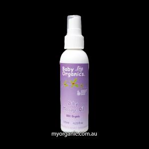 Baby Massage Oil Organic 100% certified organic 125ml