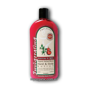 OS12 - Organic Selections - Organic Rosemary - Kakadu Plum Hand and Body Lotion (375ml)