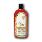 OS15 - Organic Selections - Organic Lemon Myrtle - Avocado Body Wash (375ml)