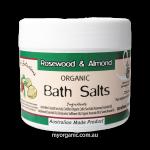 OS18 - Organic Selections - Organic Rosewood - Almond Bath Salts (200g)