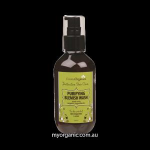 Organic facial wash for acne