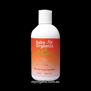 B04-CO - Baby Organics - Organic Baby Bath Wash (250ml)