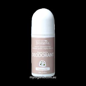 ORG108 - Biologika - Organic Fragrance Free Deodorant (70ml)
