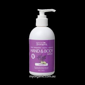 ORG54 - Biologika - Organic Lavender Hand & Body Wash (250ml)