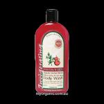 OS16 - Organic Selections - Organic Rosemary - Kakadu Plum Body Wash (375ml)