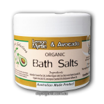 OS19 - Organic Selections - Organic Lemon Myrtle - Avocado Bath Salts (200g)