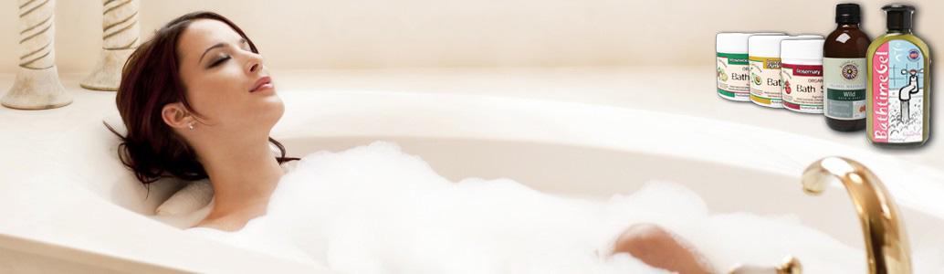 indulgent organic bathroom products