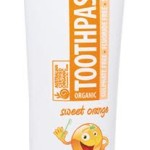 Organic Toothpaste Sweet Orange